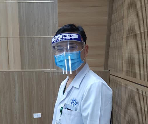 Mũ chống dịch BS