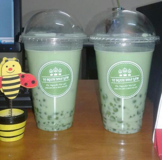 Tem decal dán cốc , dán ly, dán chai trà sữa, trà tranh, đồ uống Công Ty TNHH Thiết Kế Và In Hồng Chính