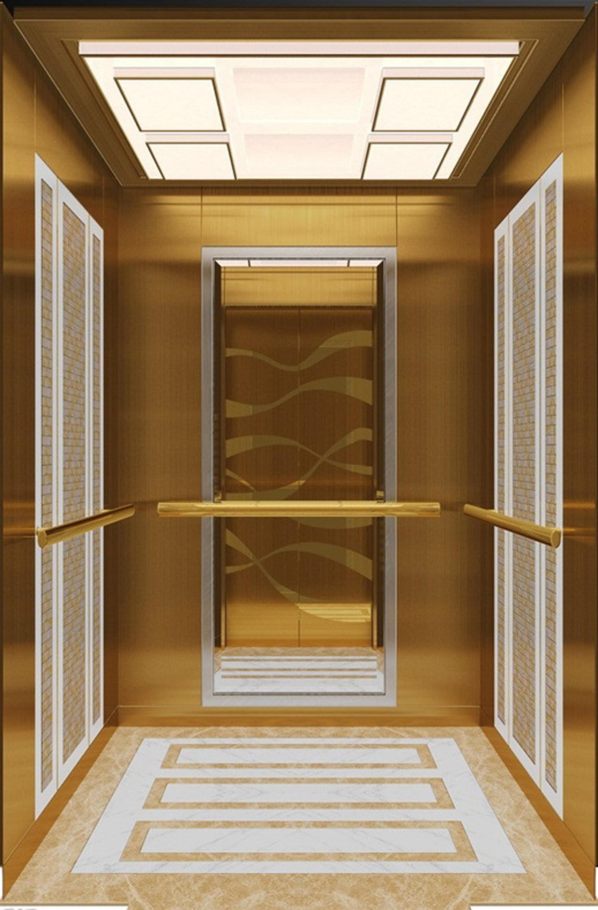 Thang máy tải khách - bản vẽ thang máy tải khách