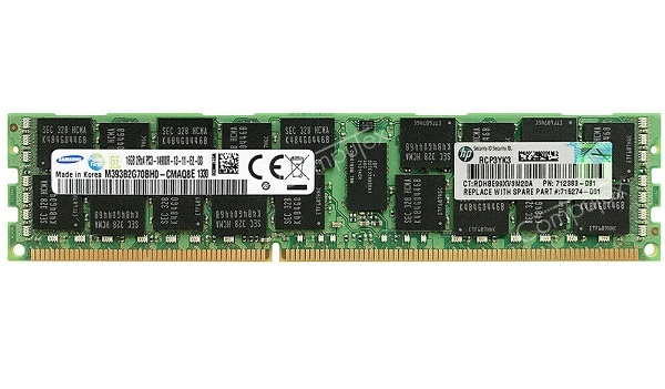 DDR3 ECC Registered 16GB 14900R, bus 1866