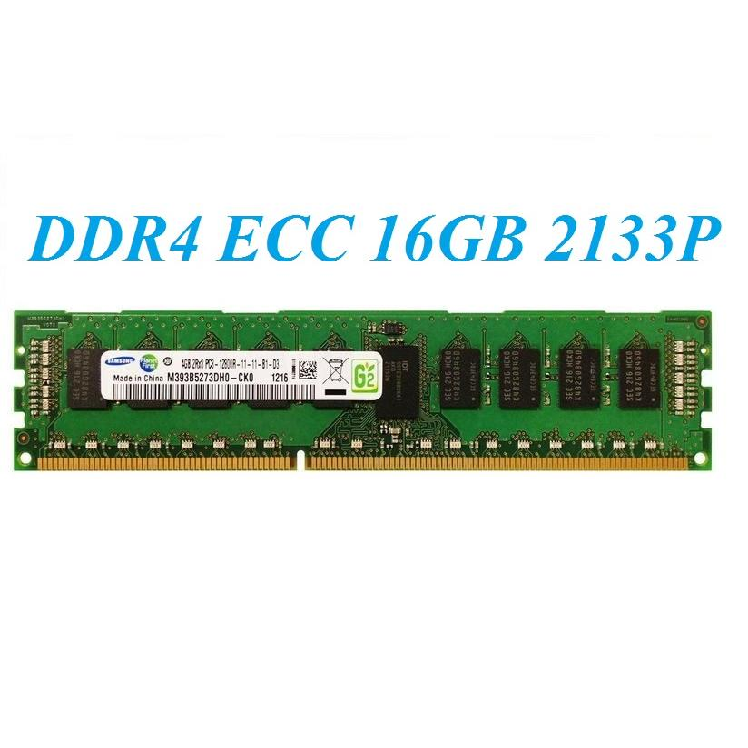 DDR4 ECC Registered 16GB 2133P - 2400T