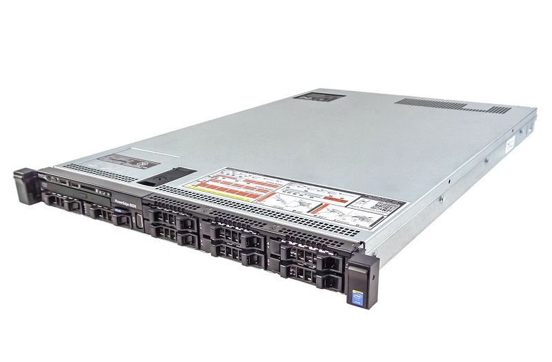 Dell R630. Rack 1U, 8 x HDD 2.5