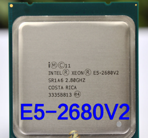 Xeon E5-2680 V2, 10core/20threads, 2.8Ghz - 3.6Ghz