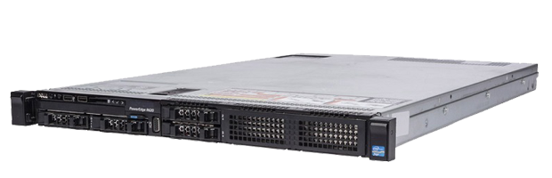 Dell R620. Rack 1U, 8 x HDD 2.5
