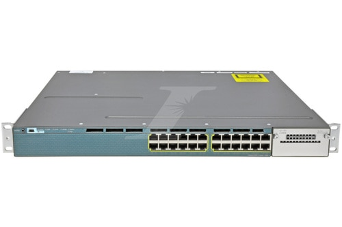 Cisco C3560X-24P-L, 24 port 1G PoE+, layer 3