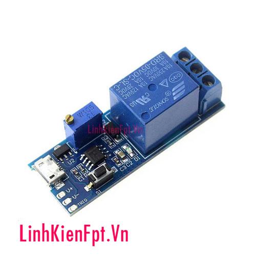 Module tạo trễ đóng cắt relay 5v-30v