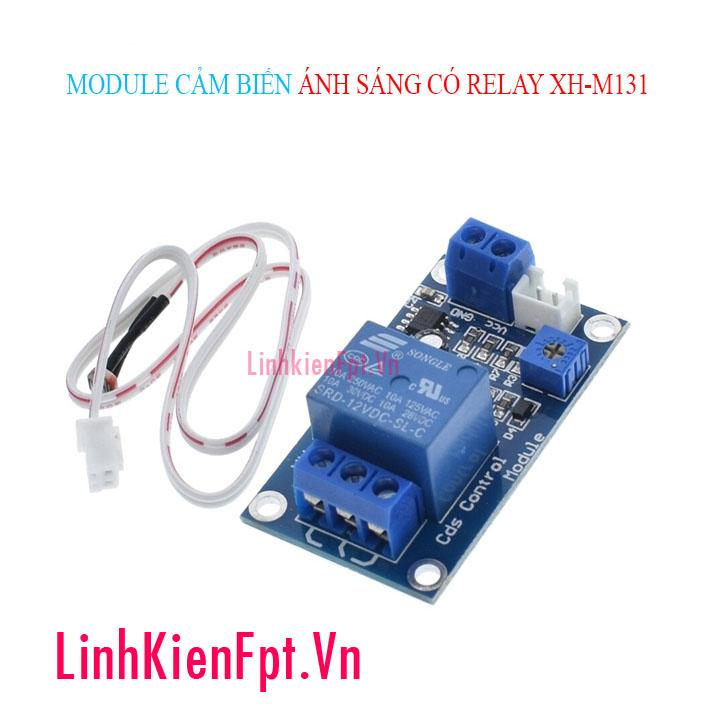 Module cảm biến ánh sáng 12v xh-m131