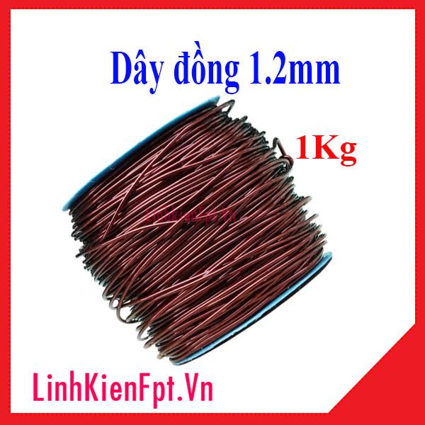 Dây đồng 1.2mm 1KG, Dây đồng quấn biến áp