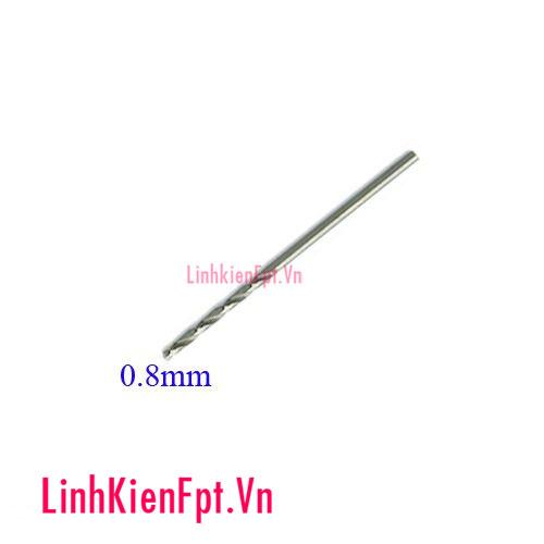 Mũi Khoan thường 0.8mm( 1 chiếc)