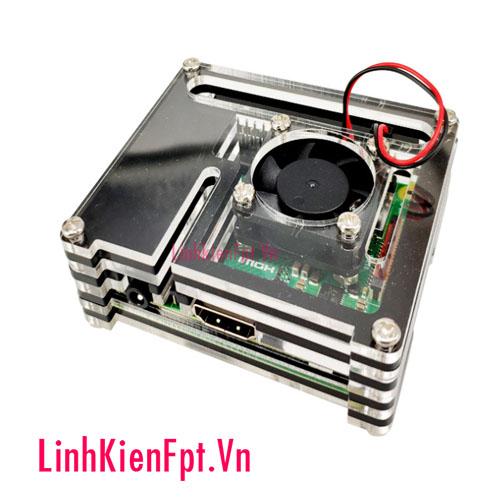 Vỏ Mica cho Raspberry Pi 3 Model A+ 9 lớp