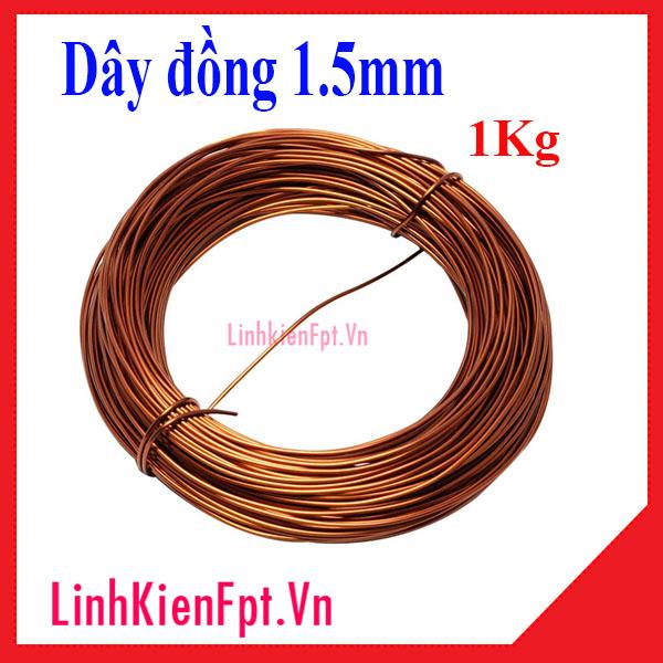 Dây Đồng 1.5mm 1KG