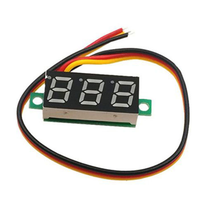 Đồng hồ đo điện áp volt dc 100v