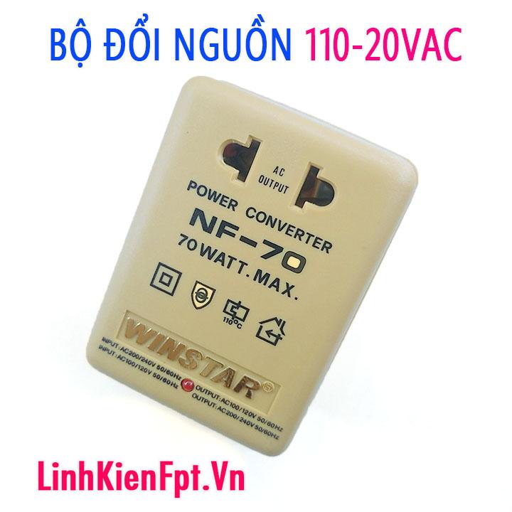 Adapter đổi nguồn NF-70 110 220VAC