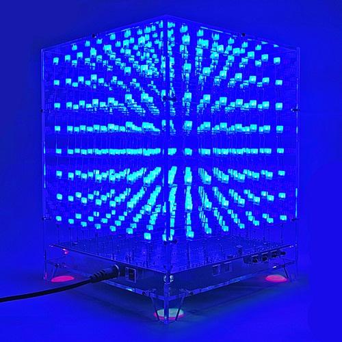 Bộ Led Cube 8*8*8 Kèm Led+Khung mica