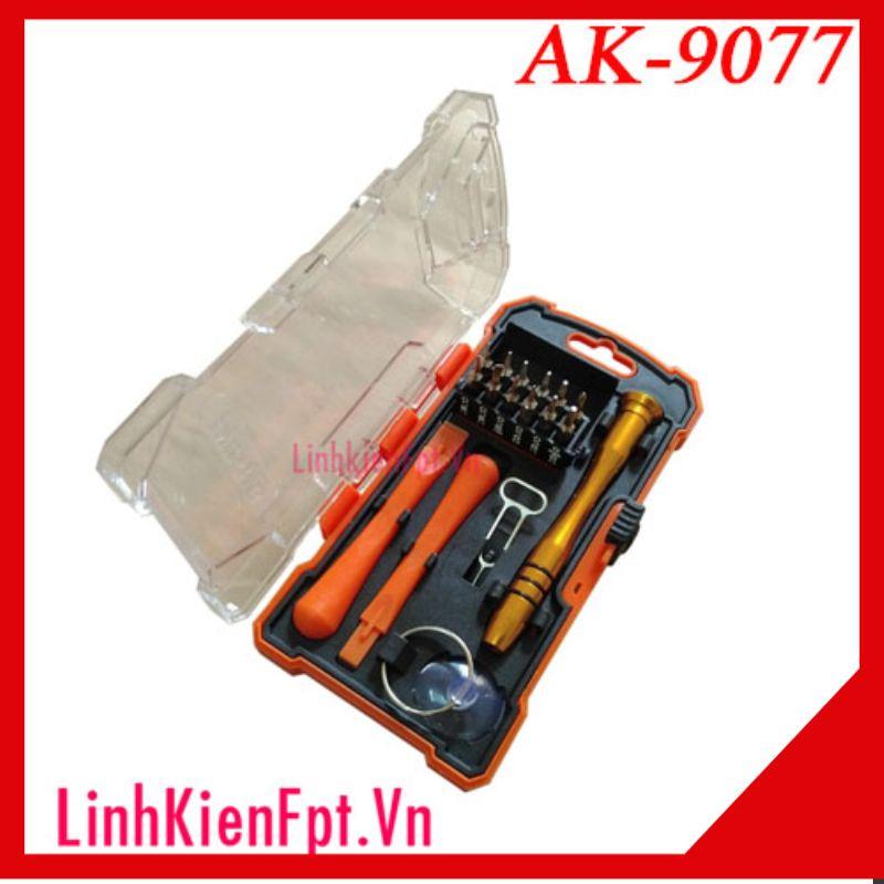 Bộ tô vít sửa chữa điện thoại Iphone, Asaki AK-9077 (Bộ 17 chi tiết)