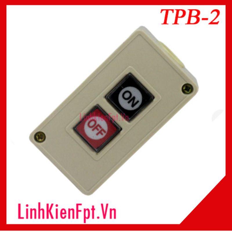 Hộp Nút Nhấn TPB-2 3A-250VAC