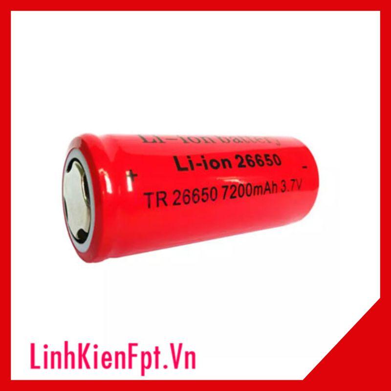 PIN SẠC ULTRAFIRE 26650 7200MAH