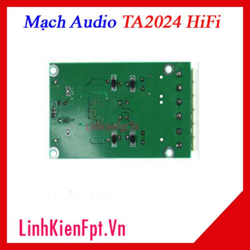 Mạch  Audio TA2024 HIFI 2x15W