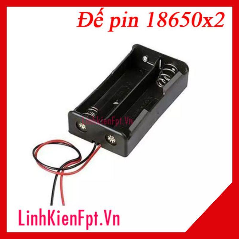 Đế Pin 18650 UtrafireX2