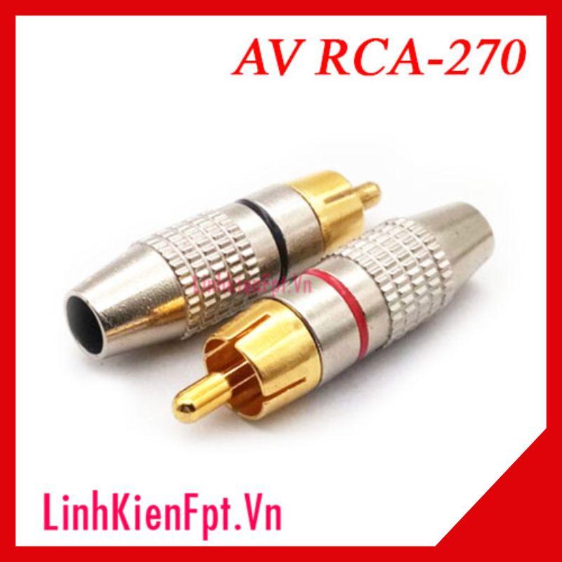 Jack Hoa Sen AV RCA-270 (1 cặp)