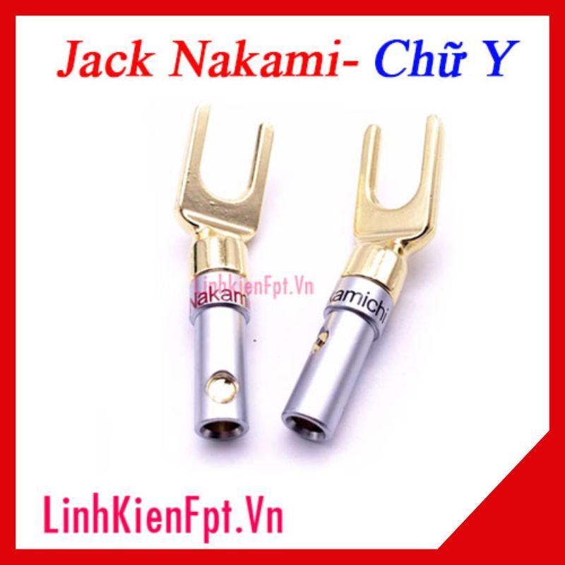 Jack càng cua Nakamichi chính hãng 8.4mm