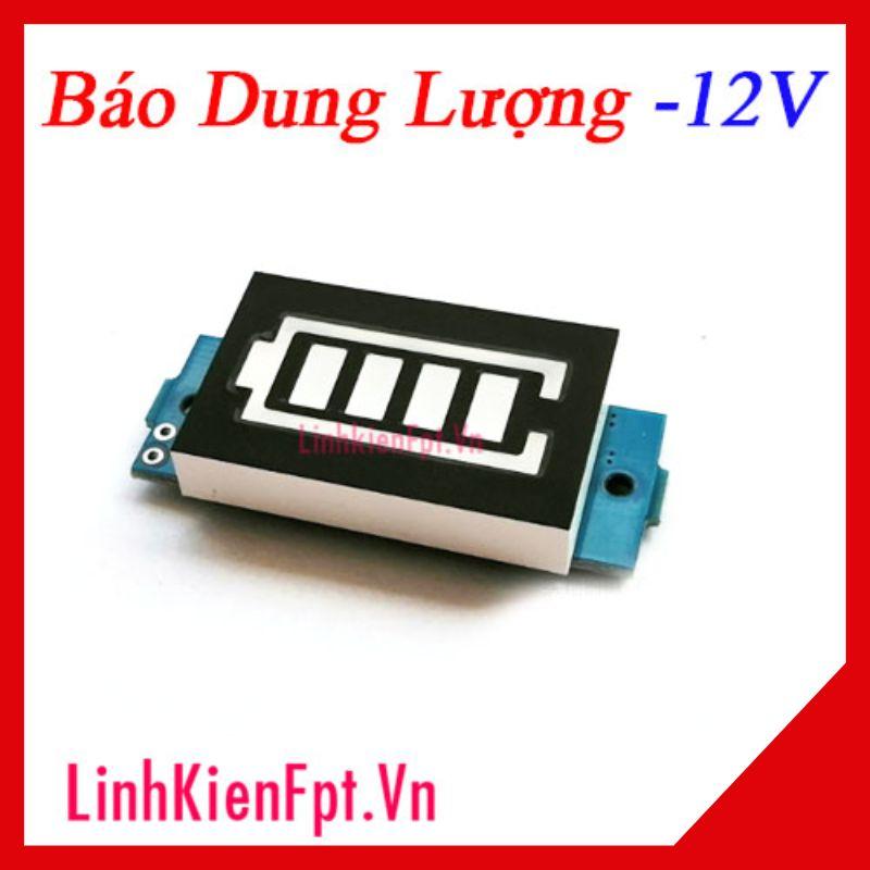 Đồng hồ hiển thị dung lượng pin , acquy 12V