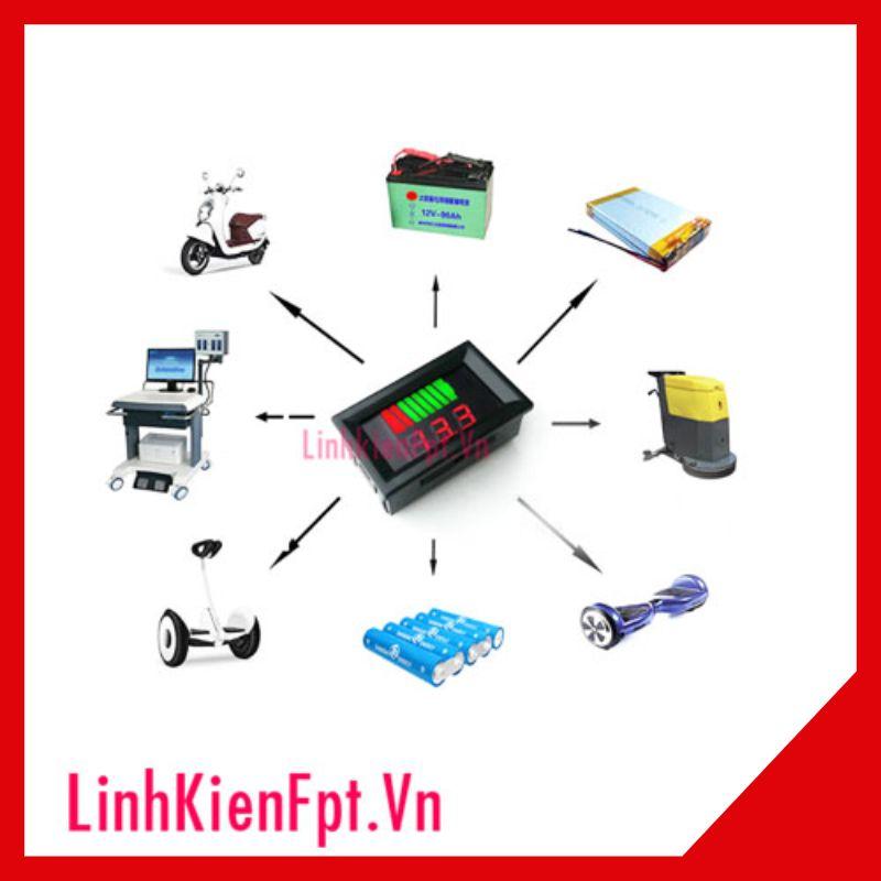 Đồng hồ đo dung lượng Bình Acquy 12-60V