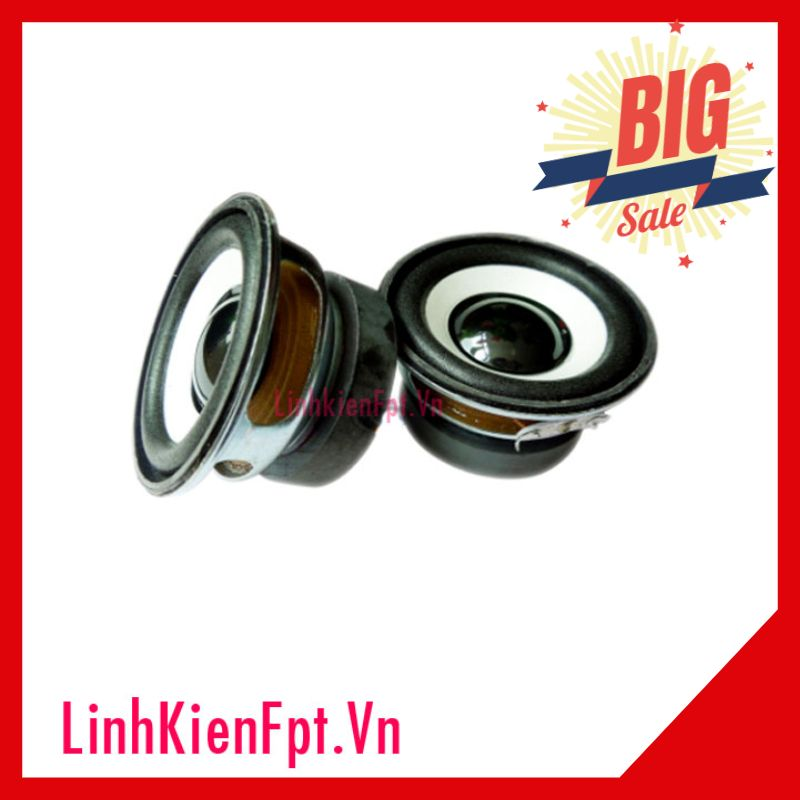 Loa 4R 3W DIY 52mm( 2 cái)