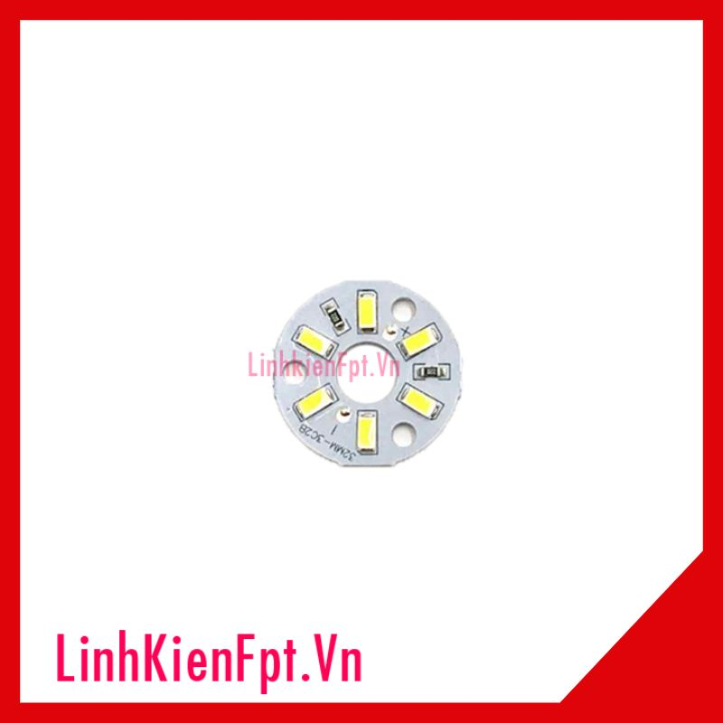 Led Vỉ Tròn 3W 12V 32mm