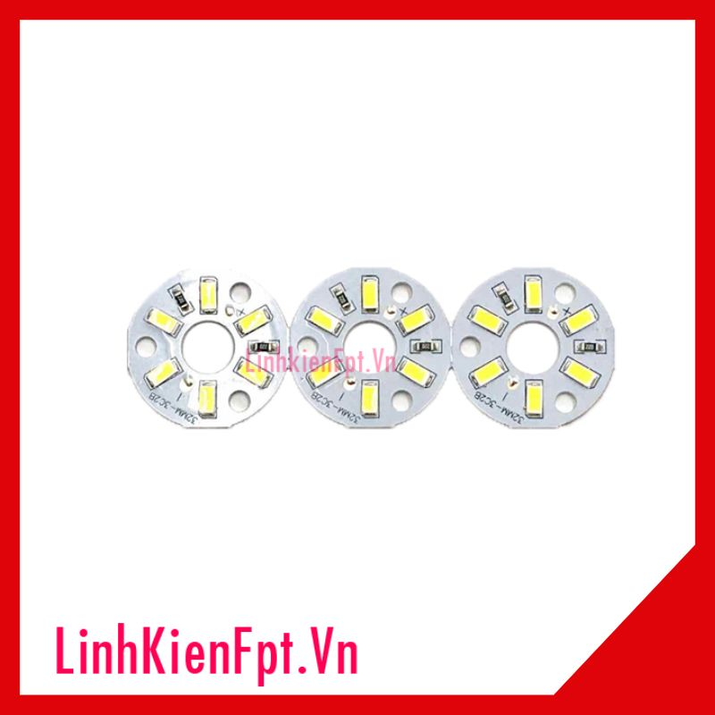 Led Vỉ Tròn 3W 12V 32mm