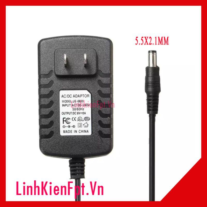 Nguồn Adapter 6V 2A