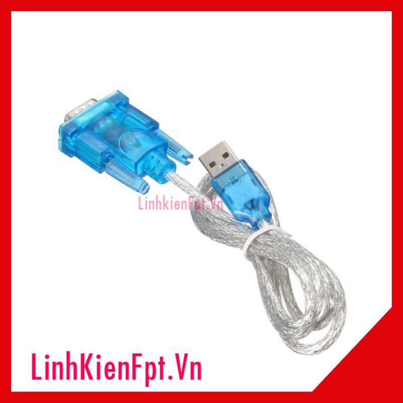 Cáp Chuyển Đổi USB To RS232 To Com