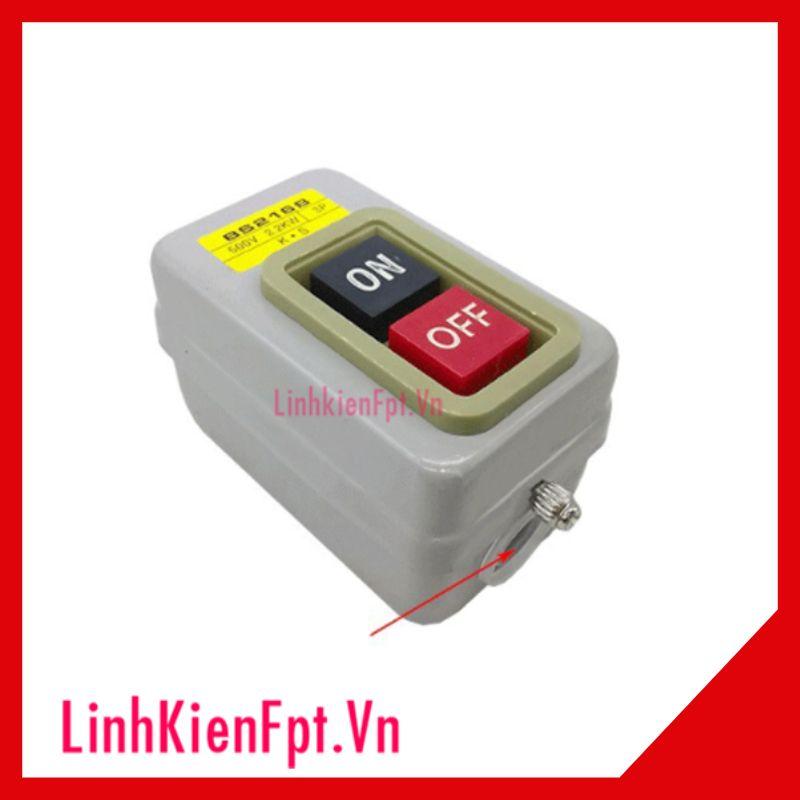 Công Tắc Nút Nhấn 3 Pha 380V BS230B