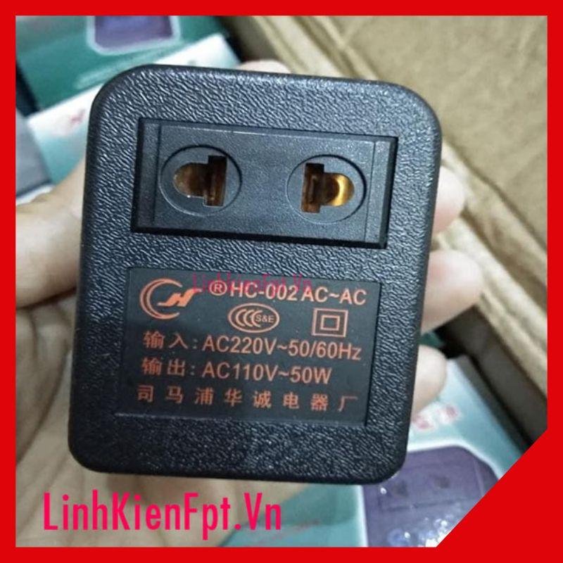 Bộ Chuyển Đổi Nguồn 220V-110V 50W