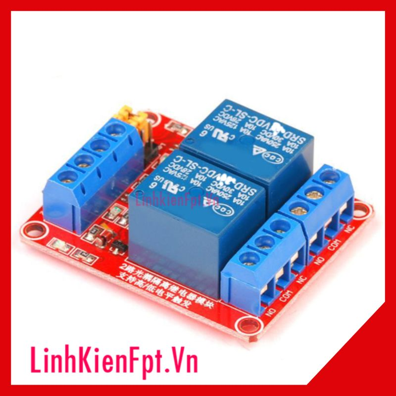 Module Relay 12VDC 1/2/4 Kênh H/L