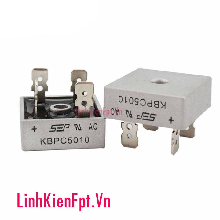 Diode cầu vỏ nhôm 50A KBPC5010