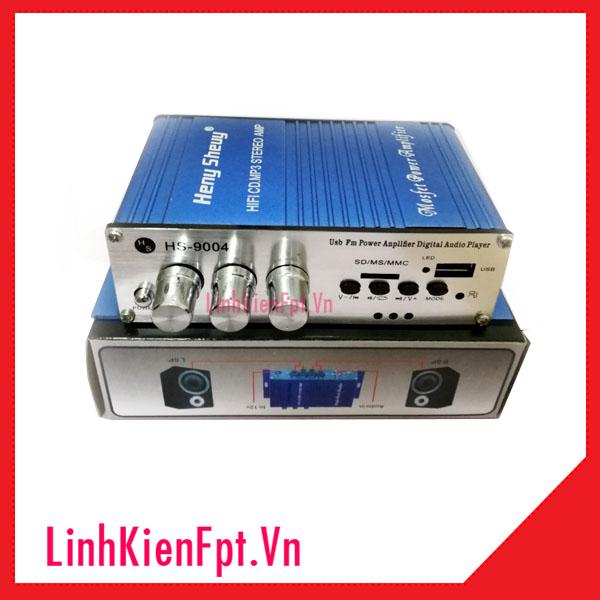 ÂM LY HS9004 35W+35W 12V-5A