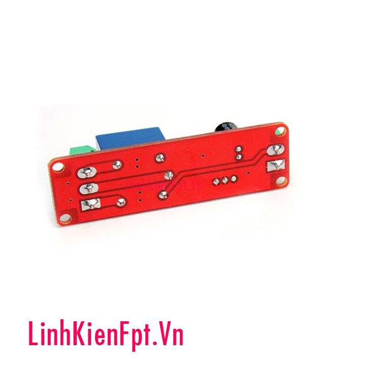 Module tạo trễ sử dụng ne555 có relay nguồn 5v