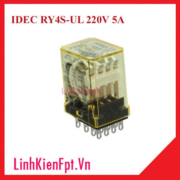 Rơ le trung gian IDEC RY4S-UL 220V 5A
