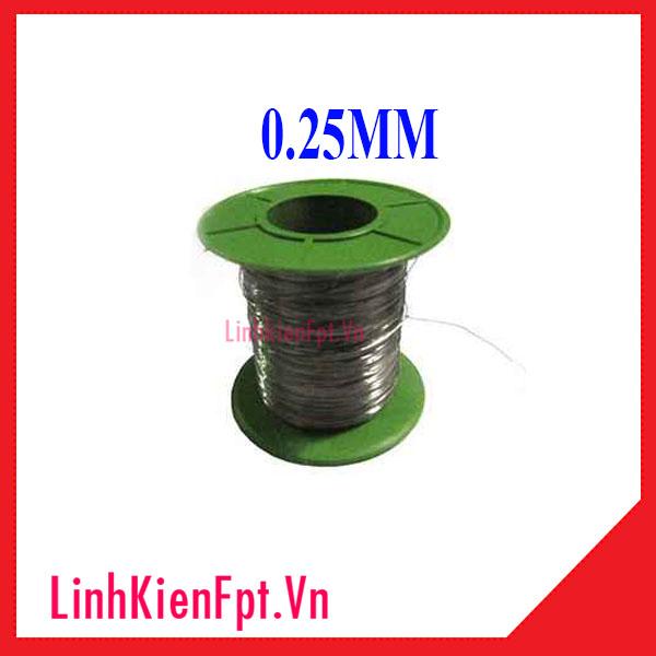 Dây Trở Nhiệt 0.25mm 1 Mét