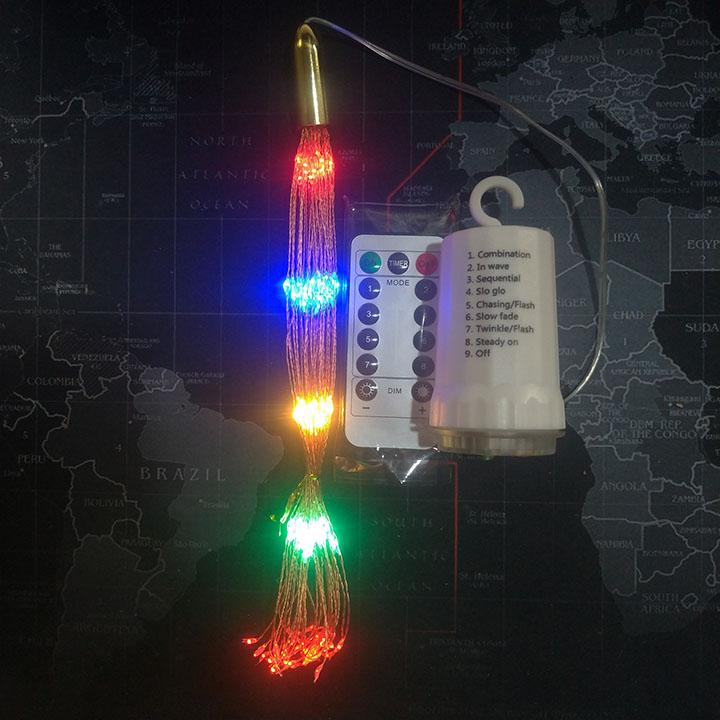 Đèn Led pháo Hoa Trang Trí Nhiều Màu
