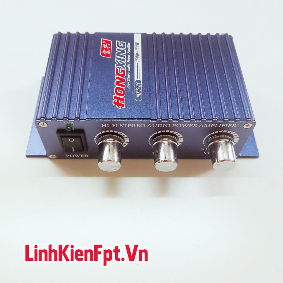 Âm Ly Mini 825IB 2*150W - Nghe Nhạc Cực Chất