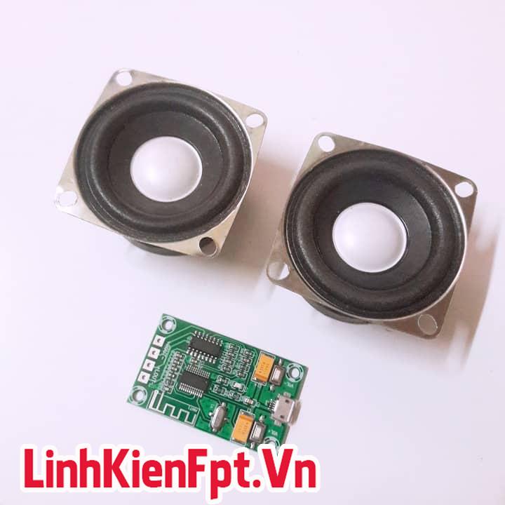 Loa 10W 4R + Pam 8403 Bluetooth - ComBo Chế Loa Thông Minh