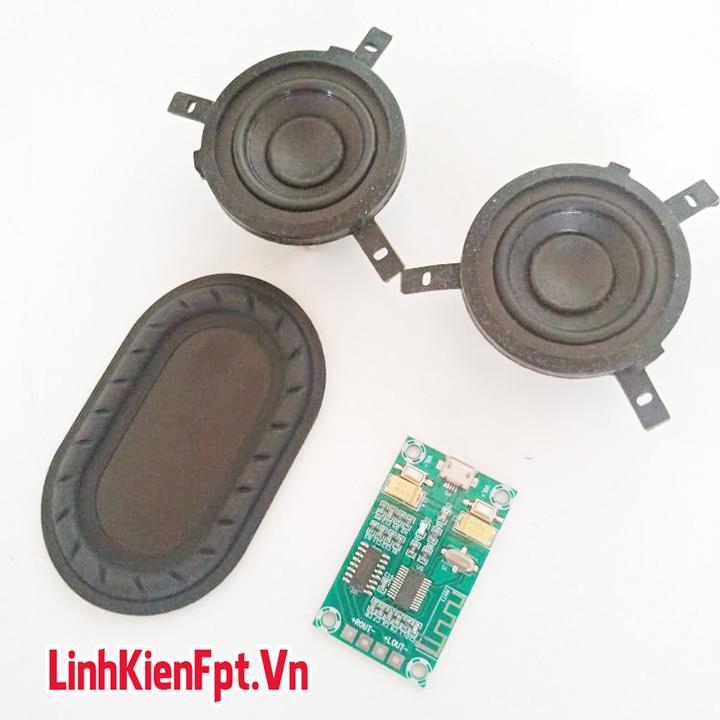 Mạch Thu Bluetooth , Combo Làm Loa Toàn Dải Bluetooth 3W Siêu Chất