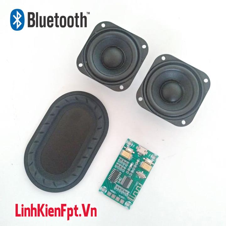 Làm Loa Bluetooth Toàn Dải 3W ,Mạch Âm Thanh Bluetooth Siêu Phẩm Chế Loa