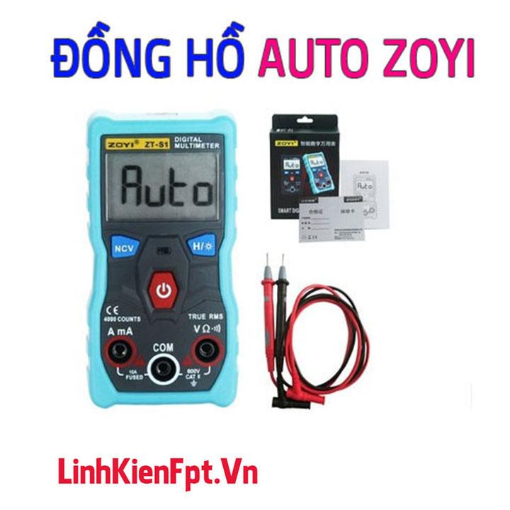 Đồng Hồ Điện Tử Đo Auto ZOYI