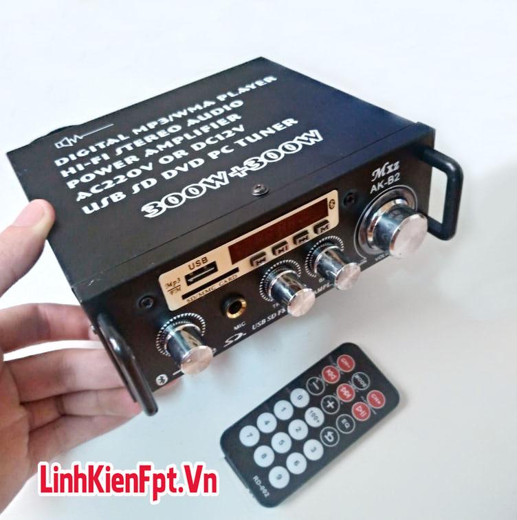 Âm Ly Karaoke Bluetooth , Amly Xe Hơi