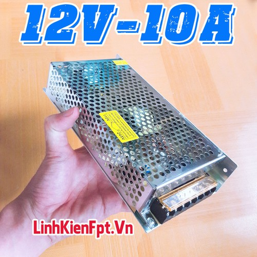 Nguồn Tổ Ong 12V 10A Loại Tốt