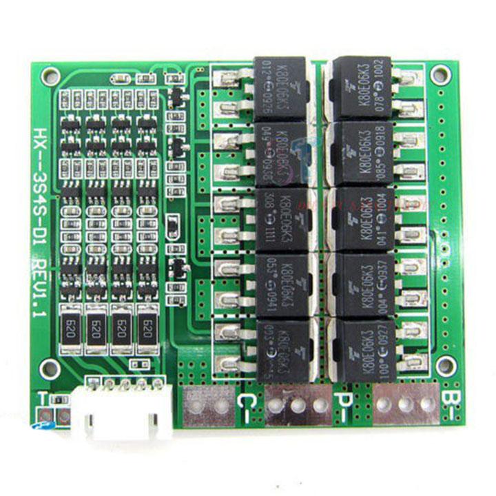 Mạch bảo vệ pin 4S 16.8V 100A có tản nhiệt