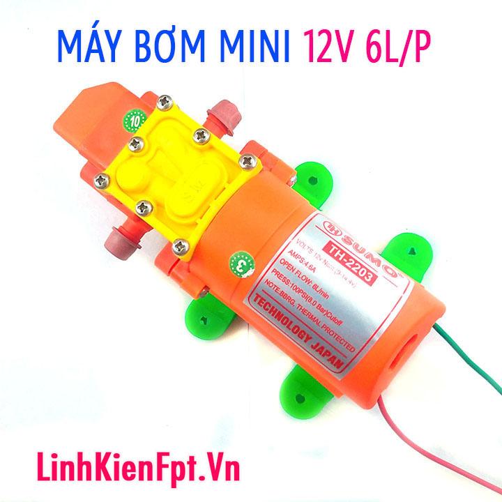 Máy bơm mini 12V SUMO2203